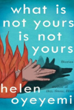 What is Not Yours is Not Yours book cover