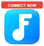 Connect now to Freegal logo.