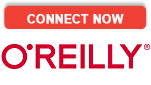 """Connect Now O""""Reilly text logo"""