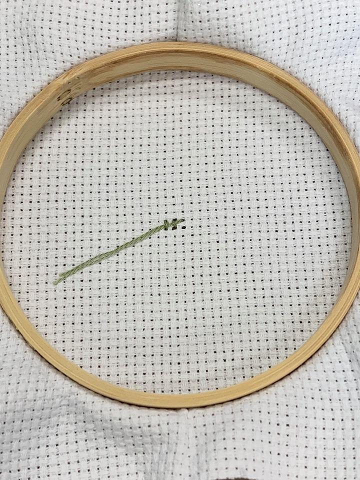 Cross Stitch Back