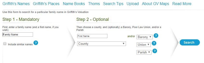 Griffith Valuation search