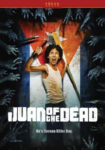 """dvd cover for movie """"Juan of the dead"""""""