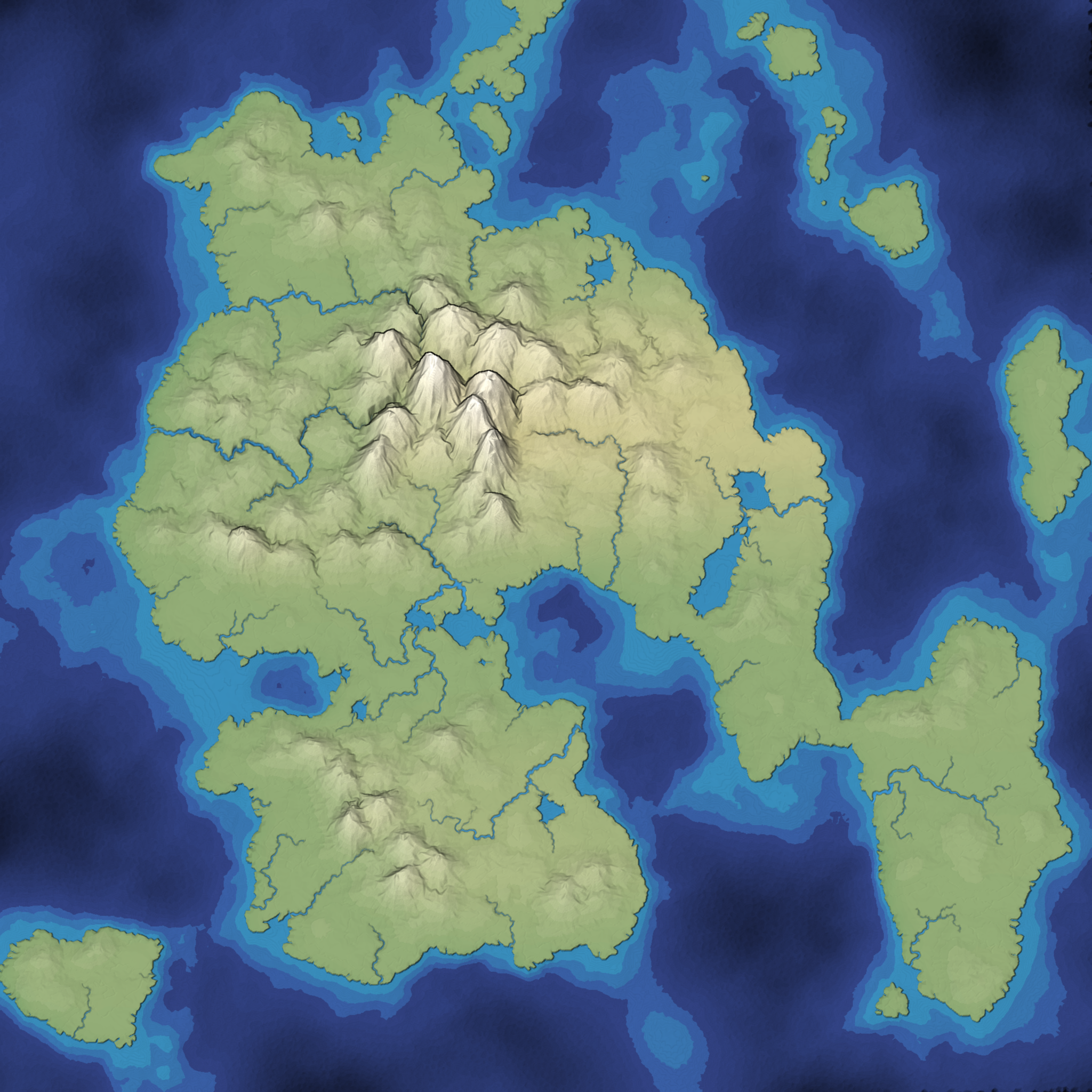 Map from Mapgen4. Seed 220 in full color
