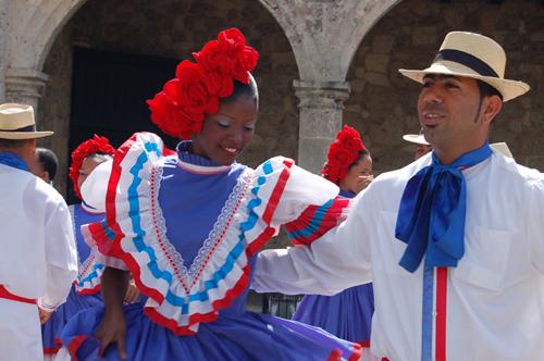 Dominican Merengue Dancers